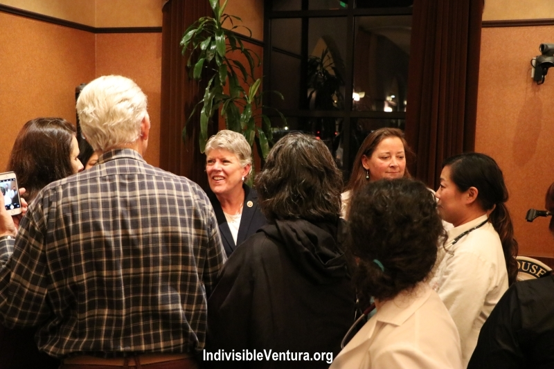 Ventura Indivisians and Physicians for Progress meet with Julia Brownley