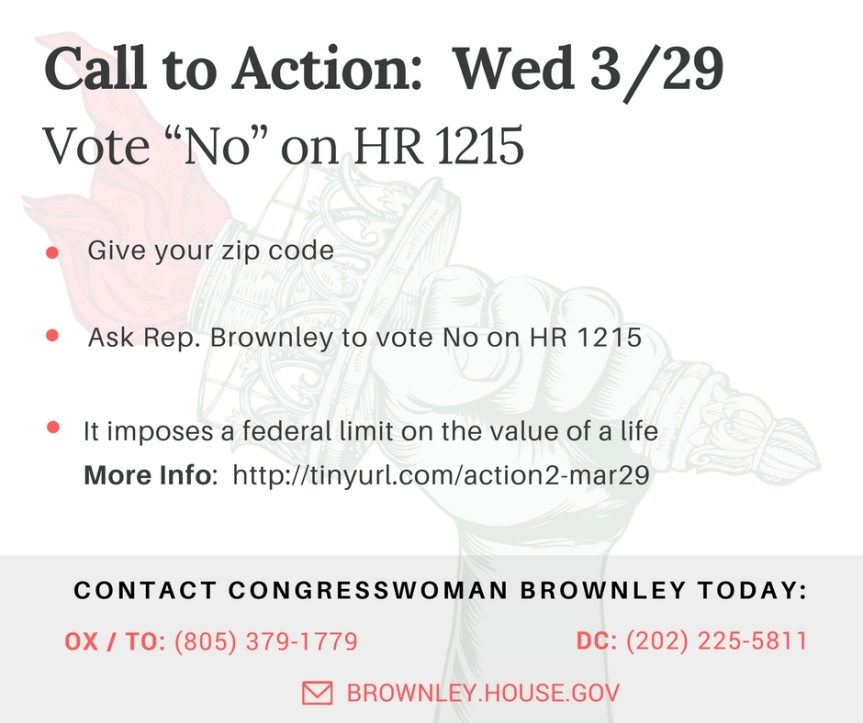 Vote NO on HR 1215