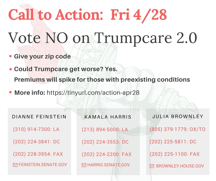 NO on TrumpCare 2.0: The revised bill is so bad that GOP legislators are trying to exemptthemselves!