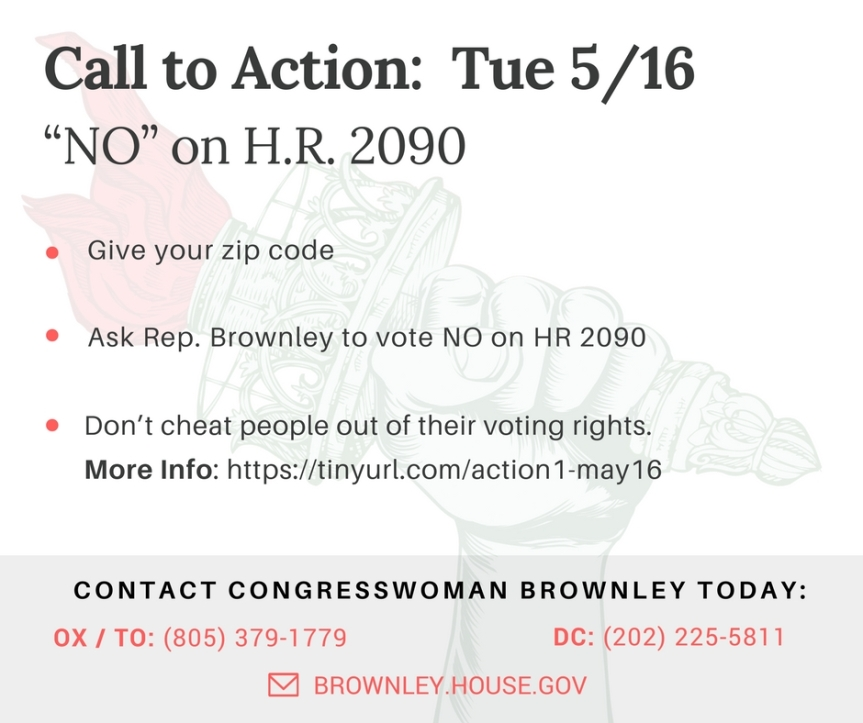 """Integrity"" has nothing to do with it. Vote ""NO"" on H.R. 2090"