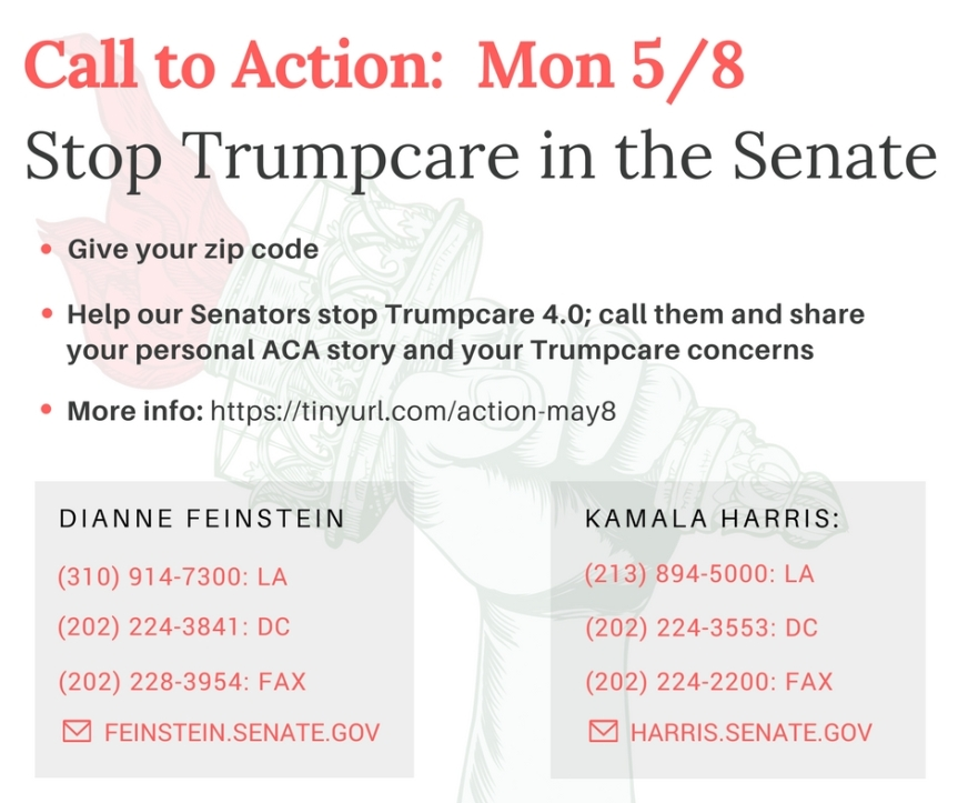 Stop TrumpCare in the Senate. Thanks, Donald, we'll have what Australia's having, please.