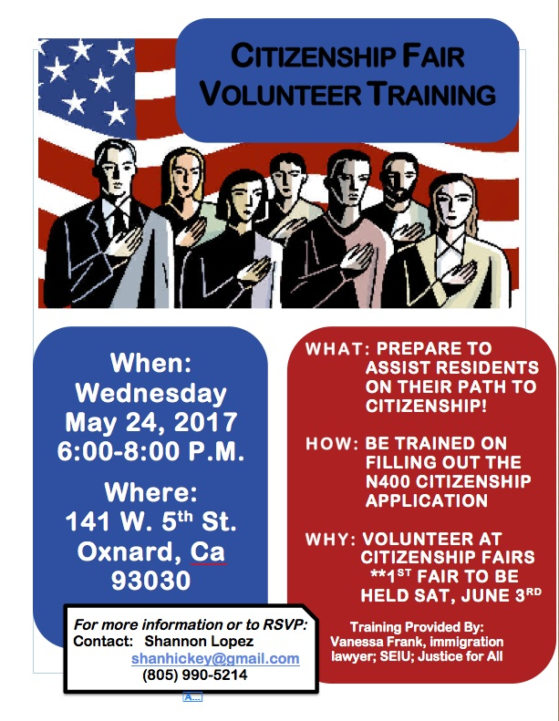 An Amazing Opportunity to Help Create New Americans!