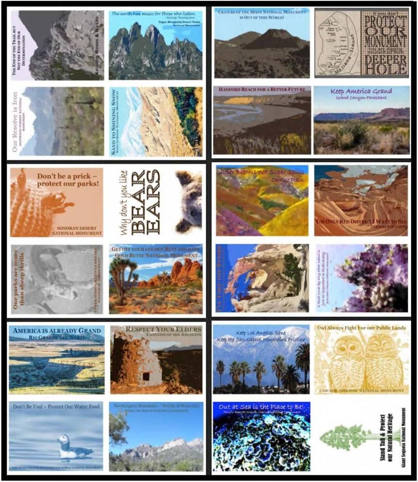 enviro postcards