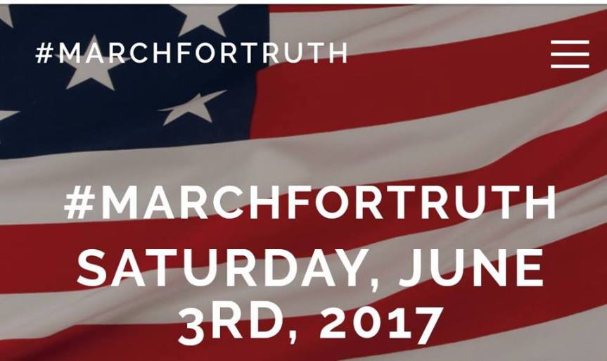 March for Truth: Get your signs, grab your sunblock, relocate your hat & waterbottle!