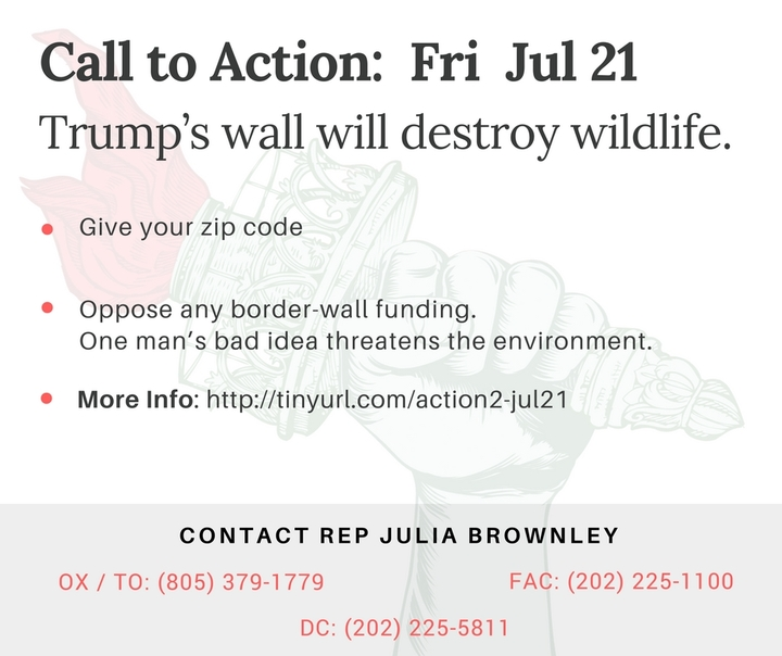 The Stupid Border Wall is not JUST a waste of money. It threatens our biggest wildlife refuges.