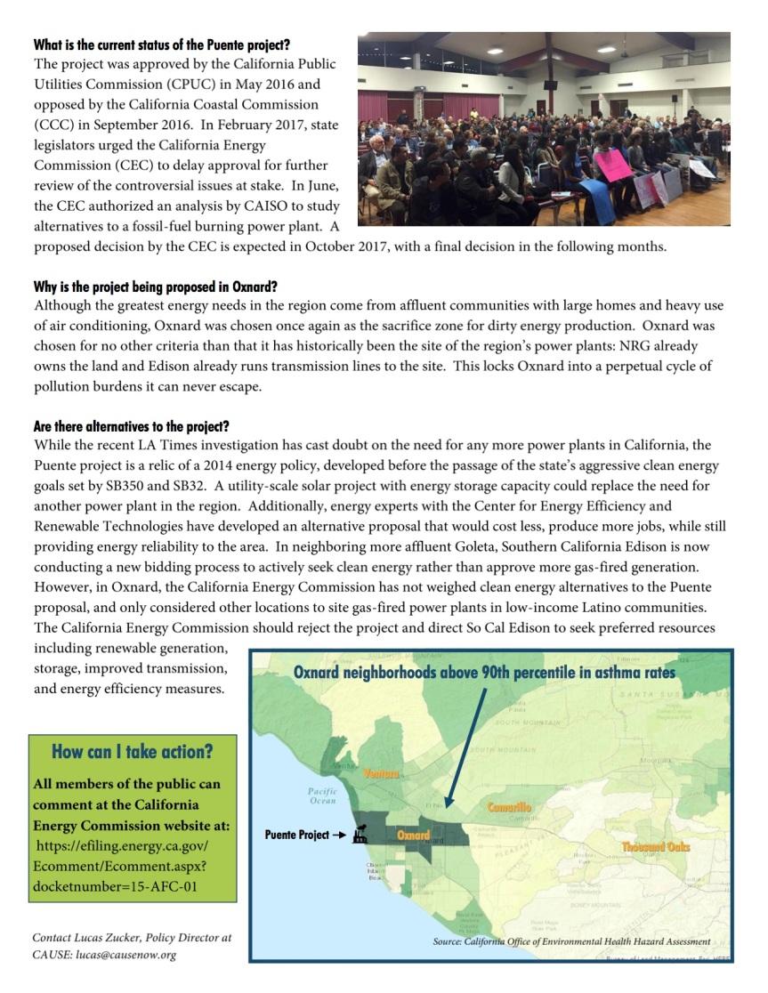 Oxnard Puente Fact Sheet2