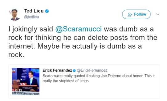 ted lieu tweet