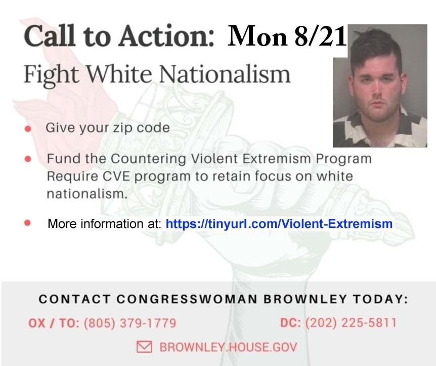 Fight White Nationalism: Government Must Fund the Countering Violent Extremism Program!
