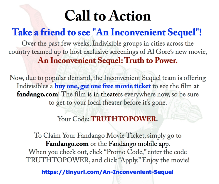 Take a friend to this movie! – Buy (1), get one free ticket from Indivisible!