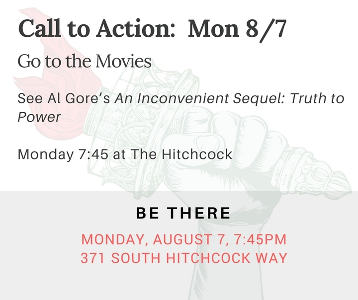 "Go see ""An Inconvenient Sequel: Truth to Power"""