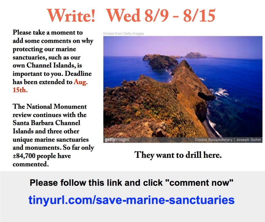 Keep up the pressure to save our beautiful ChannelIslands!