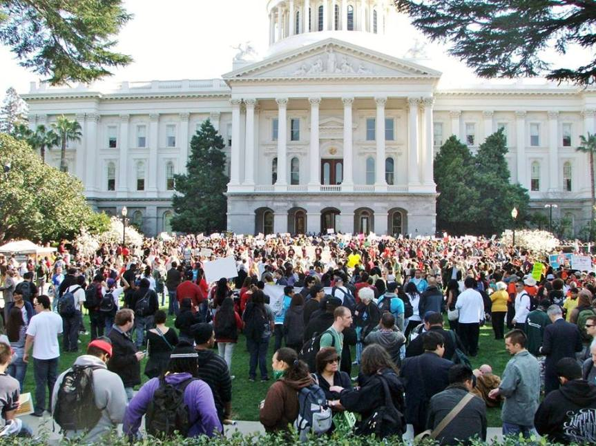 Road Trip! Join us in Sacramento on September 7 for SB 54 (CA Values Act/Sanctuary State) Statewide Day of Mobilization. (Busesavailable!)