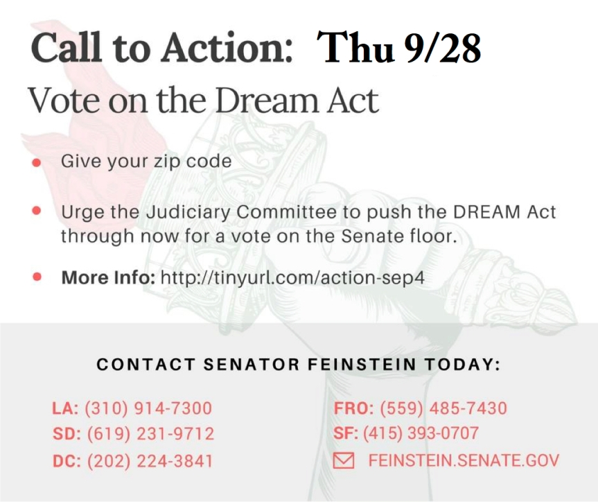 No More Delay: Pass the Dream Act (S. 1615) Now!