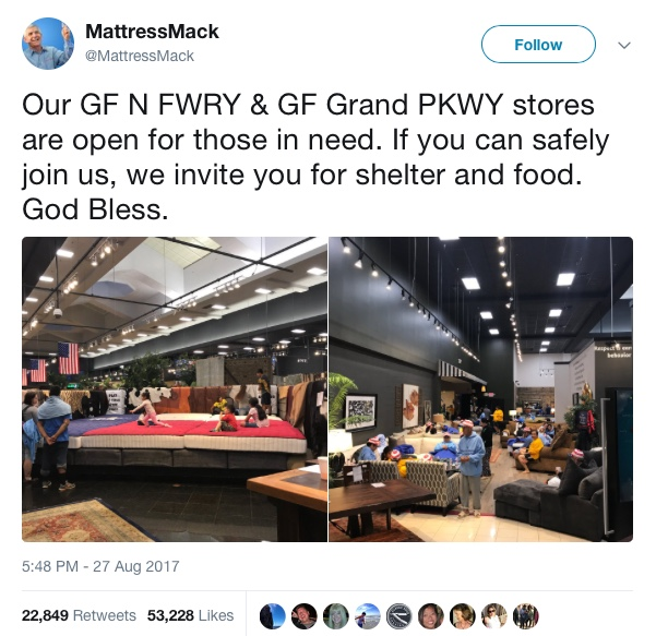 "Your Weekly Dose of Sanity-Saving Good News! – The ""Hurricane Harvey"" Edition"