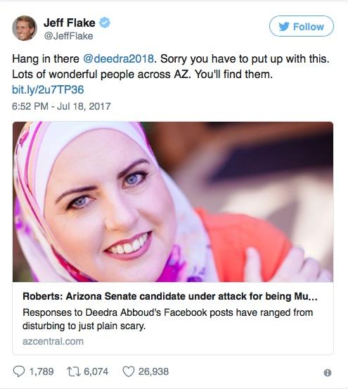 muslim opponent