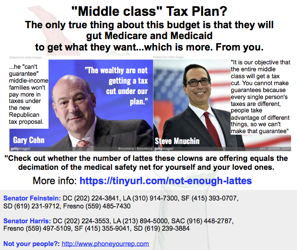 "Hey, ""Middle-Class"". How much is this supposed tax break worth to you?"