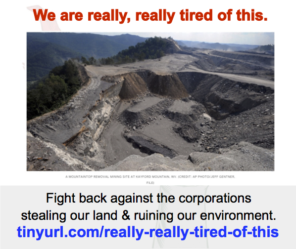 Enviro-pocalypse Now! Fight back against corporations ruining ourenvironment!