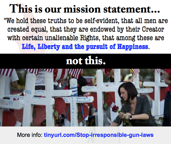 """This is not what """"freedom"""" should looklike."""