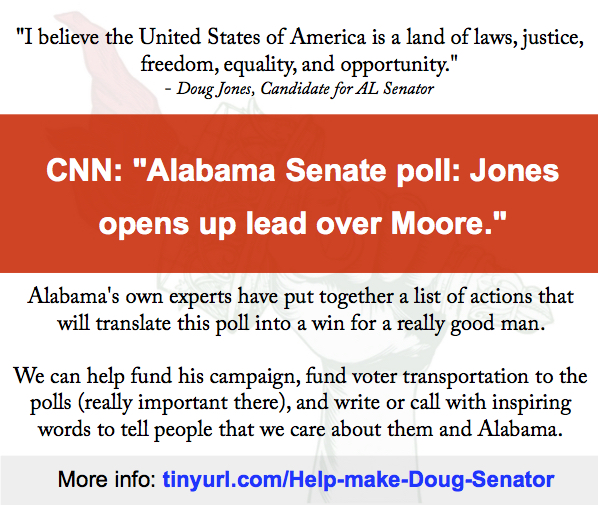 Here are the best ways we can help Doug Jones win.