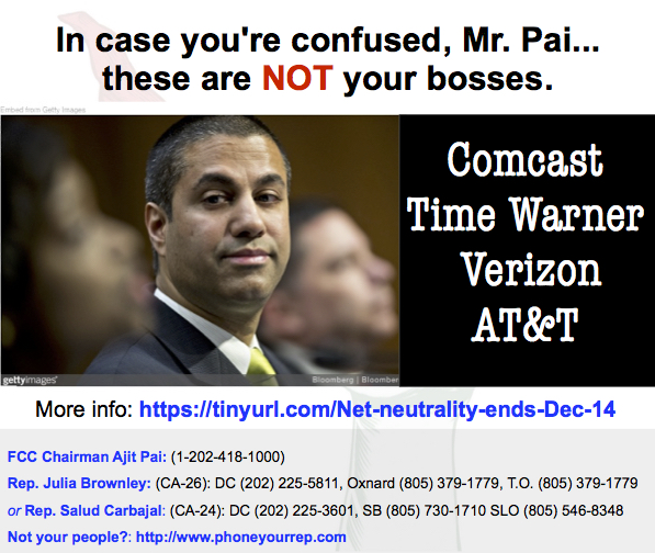 Take aim at the FCC in 4 easysteps.