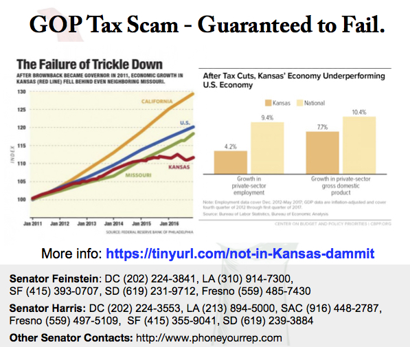 Their #TrumpTaxScam is worse than we imagined…It almost killed Kansas.