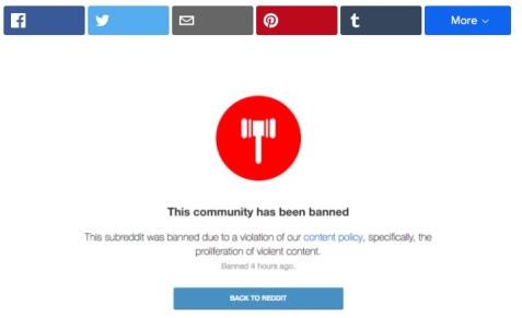 reddit nazi ban
