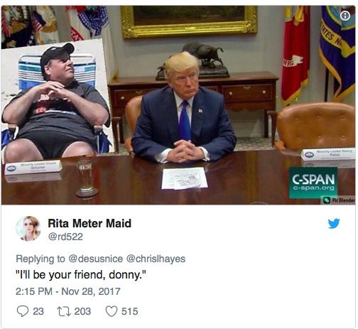 trump chairs