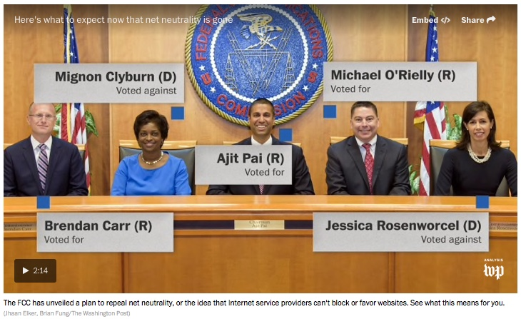 Thursday 1/11 – The FCC, Mueller and the Earth…