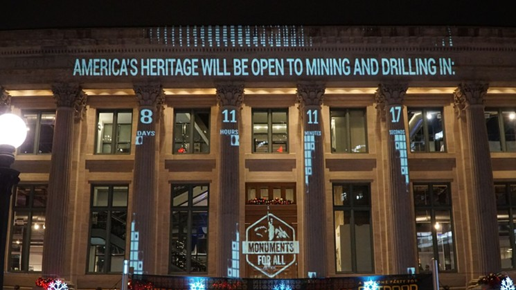 patagonia.five.light.projections.outdoor.retailer.denver