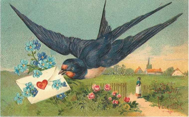 Valentine postcards!