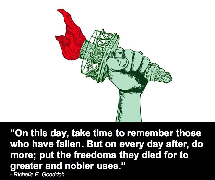 It's Memorial Day!
