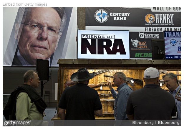 Fri. – 5/4: The NRA is busy this weekend. We should betoo…