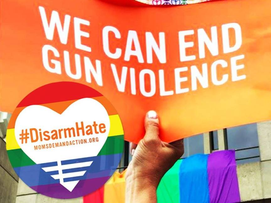 """Fri 6/8: Come to Plaza Park tomorrow for """"A Gathering to DisarmHate""""!"""