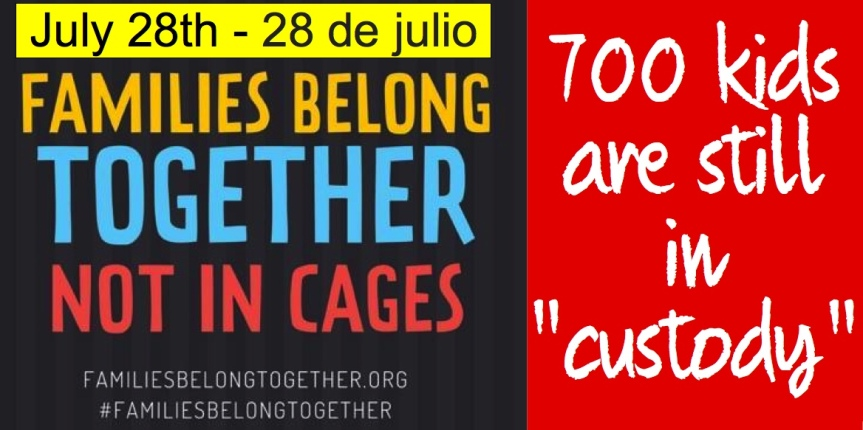 Fri/Sat – 7/27-28:  We have a lot to do for the economic and terrorism refugees on our border, so let's getstarted…
