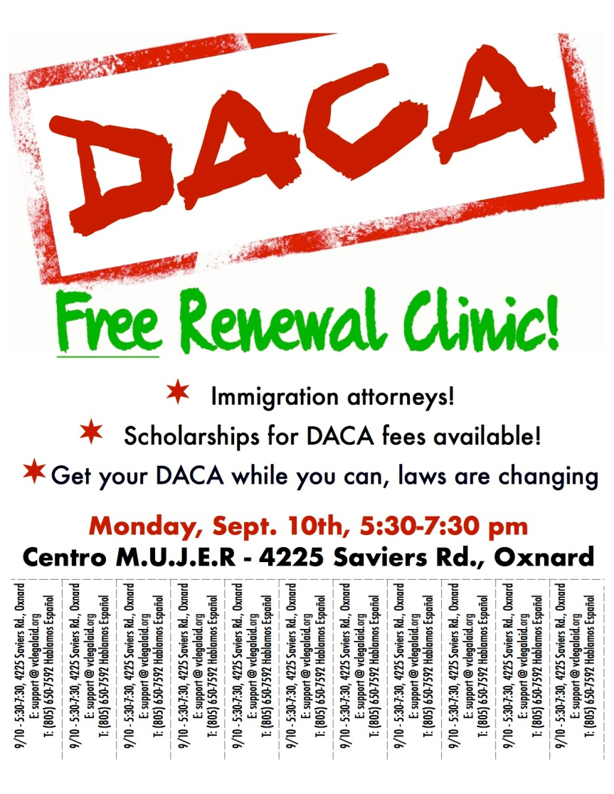 DACA SIGN 9.10 english