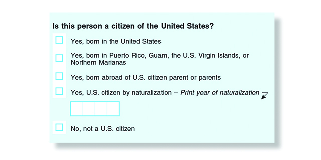 Fri 8/3: It just takes one census question on citizenship to steal power from our state. Comment now to stop this! Deadline Tuesday, Aug.7th.