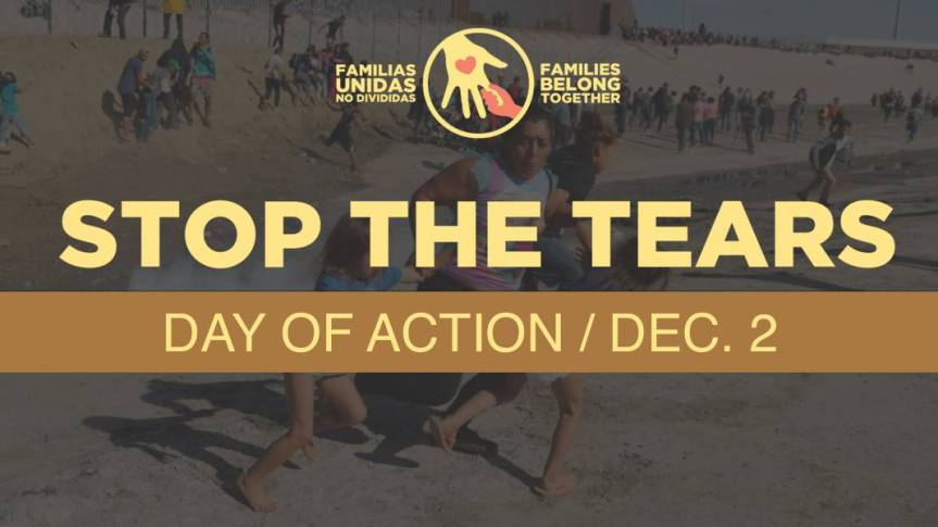 Sun 12/2: Day of Tears – Not in our name. Rally and Actions.