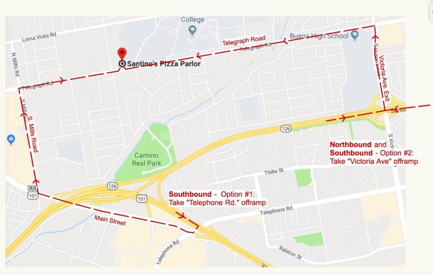 Santino's map