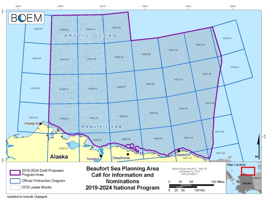 Beaufort Sea planning Area