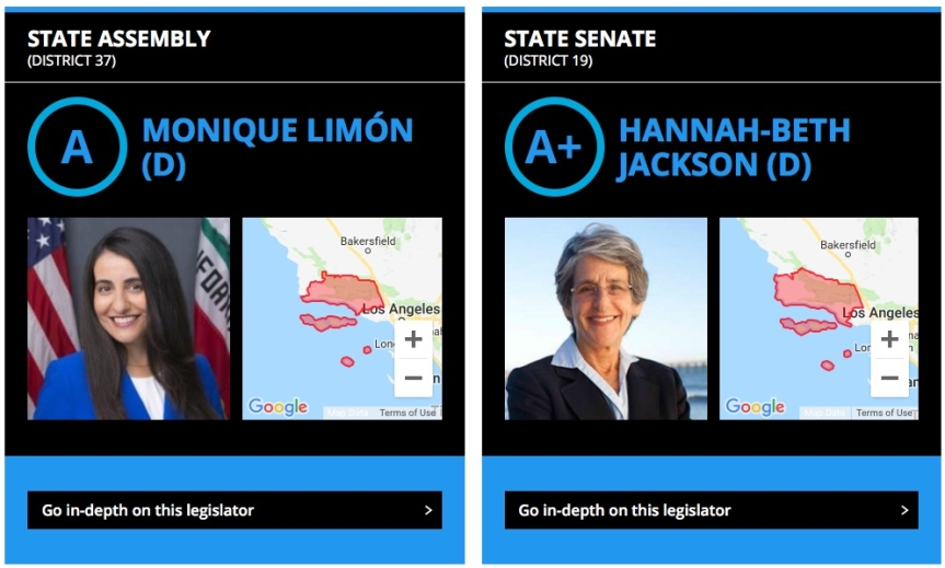 """Wed – 2/20: New """"Courage Scores"""" for our state legislators! Click &Thank!"""