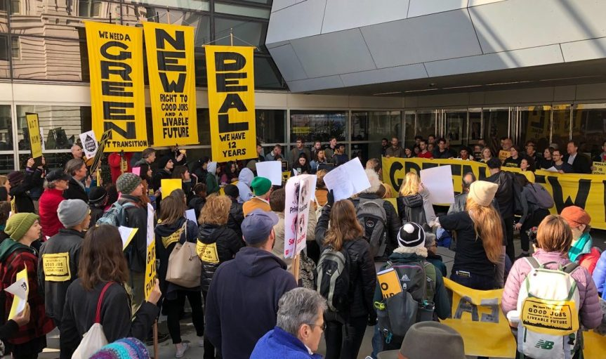 Wed 2/6: Join in today in Thousand Oaks. Tell Julia we want a#GreenNewDeal!