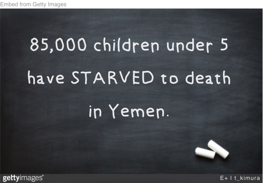 Wed 4/3: Yemen is the world's largest humanitarian crisis, and House GOP are playing games. Callnow!