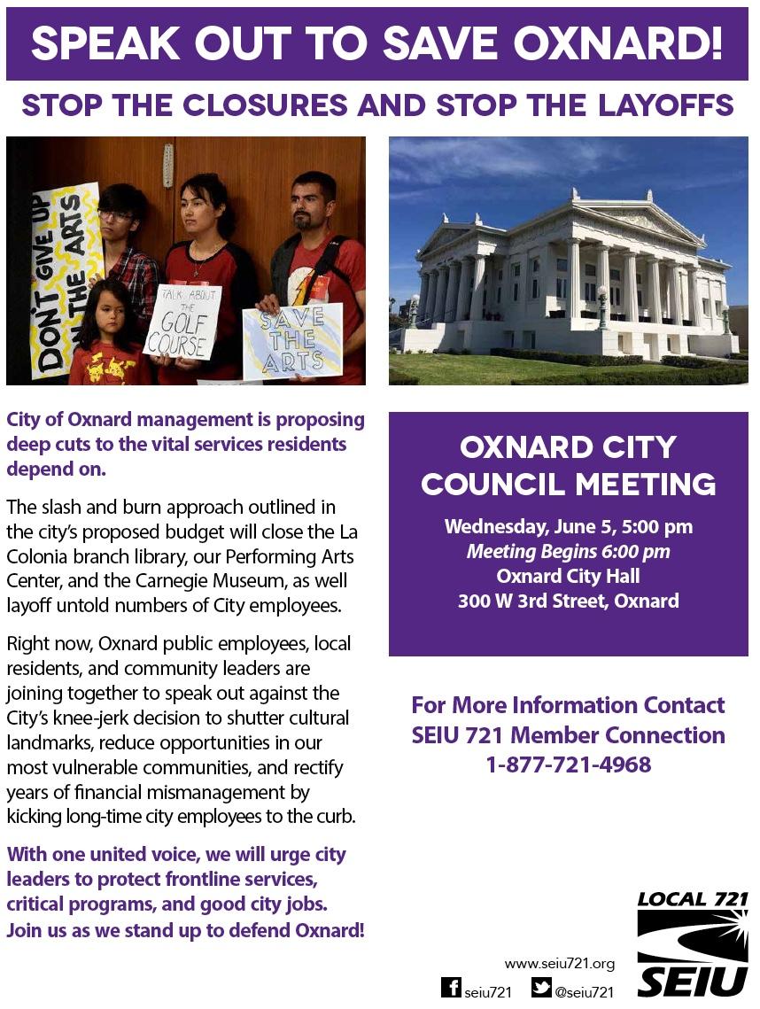oxnard meeting