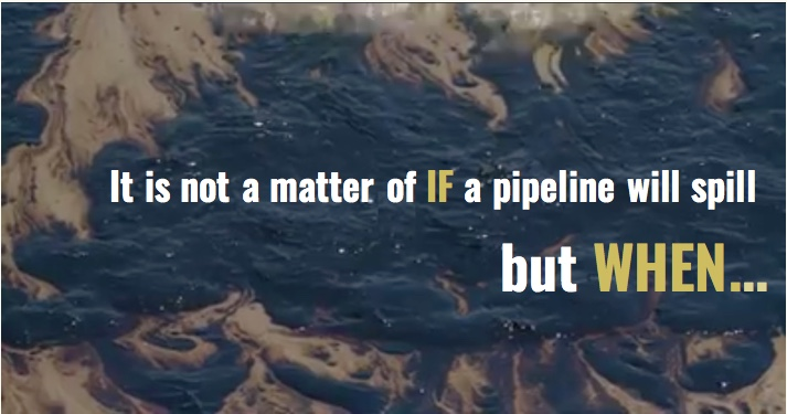 Sun 6/2: Tomorrow (Mon. June 3rd) is the deadline for comments to stop our area's next major pipelinedisaster.