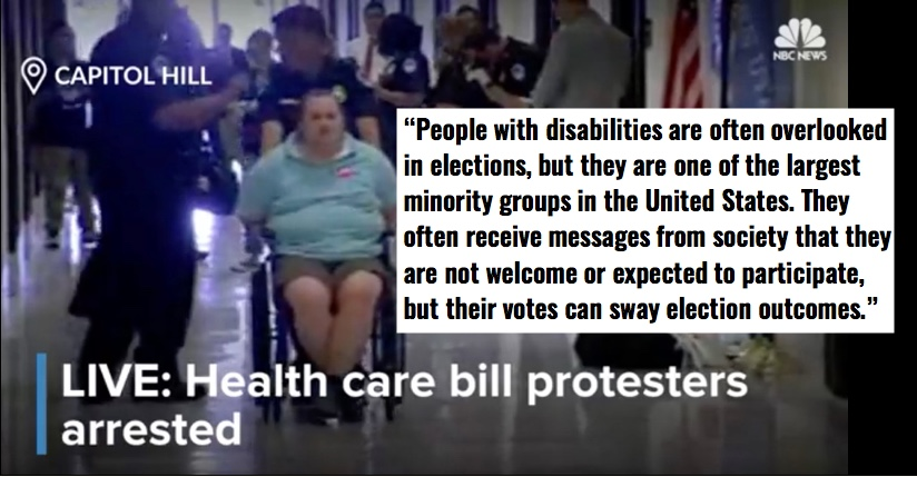 Wed 6/5: Making voting more accessible, especially to those with disabilities. Part 1:  CA – Thank our legislators!