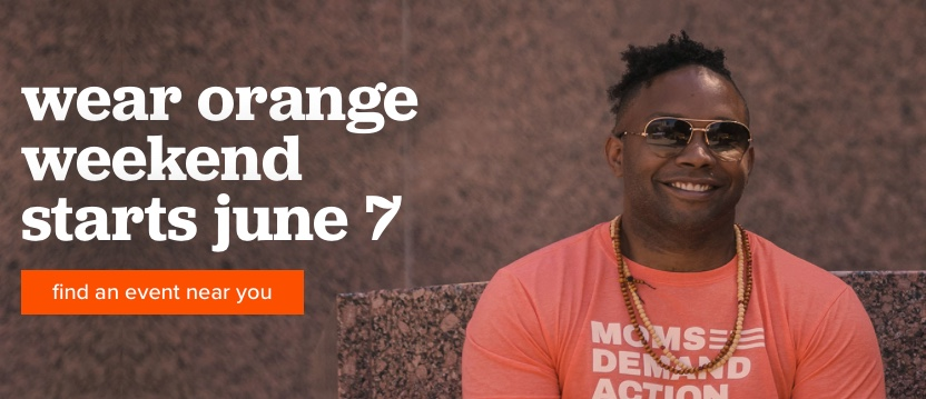 Fri 6/7: Yes, you can do something. Pull out those orange T-shirts and be seen, pull out your phone and be heard. Join in!