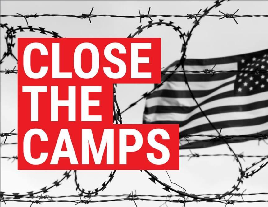 Close the Camps Protest at Rep. Brownley's Office – On July 2nd!