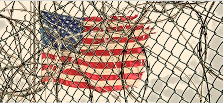 """Fri 7/26: Sign up for this lunch hour """"History of Criminalization"""" webinar series. Starts today! July 26- Oct.25"""
