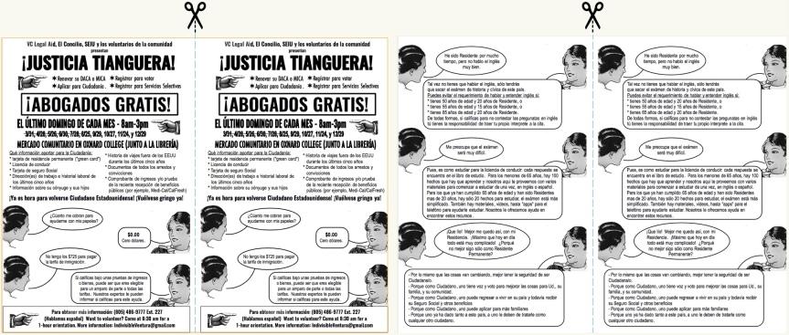 Justicia tianguera 2 page unit