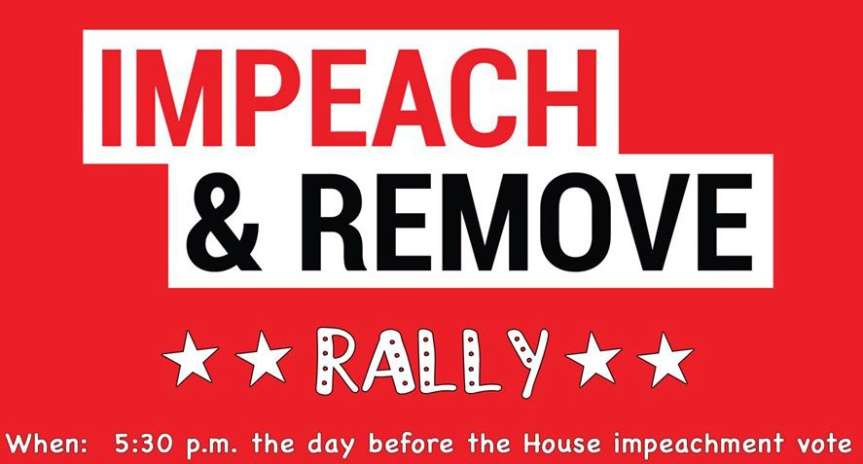 Impeach This! – Nobody is Above the Law Rally on eve of impeachment vote (whenever that may be) with over 300 groups nationwide!